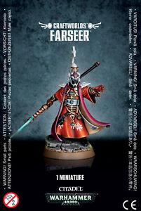 Craftworlds Eldar Farseer Games Workshop 40k BNIB