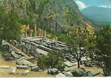 Apollo Temple Greece Postcard Repubblica Italiana Stamps 1978