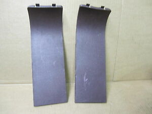 TOYOTA SUPRA 87-88 1987-1988 TAIL LIGHT ACCESS COVER PANEL SET DARK RED