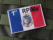 SNAKE PATCH - FRANCE 1er RPIMa avec insigne TAP COLO PARA COMMANDO FS