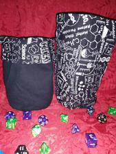 Chemistry Science Love Dice Bag HANDMADE
