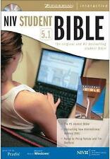 CD PRADIS 84 NIV STUDENT BIBLE 5.1 Zondervan 1984 New International NEW OPEN BOX