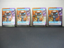 MTG SCG Game Night Fintuition Foil Tokens x 4