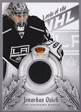 13-14 Crown Royale Jonathan Quick Jersey Lords Of The NHL LA Kings 2013