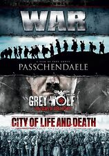 War Boxset, Passchendaele, Grey Wolf, City Of Life & Death (NEW SEALED DVD)