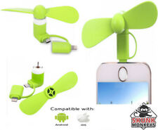 Portable Mini USB Green Fan For Apple Android iPhone Samsung HTC LG Tablet iPad