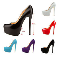 Onlymaker Women Sexy Pumps High Heel Hidden Platform Stiletto Wedding Suede Shoe