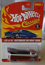 HOTWHEELS Classic #25 Customized VW Drag Truck  SERIE 2 NEW