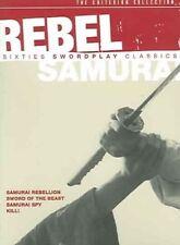 Rebel Samurai Sixties Swordplay Class 0037429210123 DVD Region 1