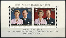 Luxembourg 1978 SG#MS1002 Royal Silver Wedding MNH M/S #D38978
