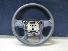 New 15 to 18 Gm Chevy Gmc Steering Column Wheel with Cruise Control Switch Black