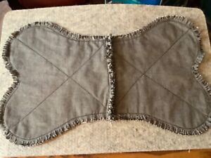 Homemade Dog Bowl Placemat Rag Quilted