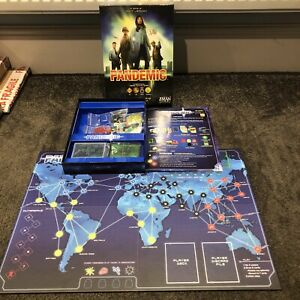 PANDEMIC BOARD GAME EXCELLENT CONDITION COMPLETE Z MAN GAMES