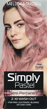 MELLOR & RUSSELL SIMPLY PASTEL HAIR COLOUR BLUE GREEN GREY LILAC PINK BLONDE RED