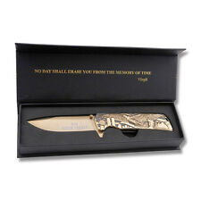 Masters Collection Ballistic 9/11 Anniversary Framelock KNIFE GIFT BOX