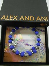 Alex and Ani Electric Wrap WILDBERRY Bangle Bracelet Rafaelian Silver NWTBC 2017