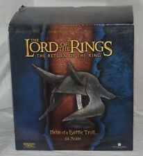 Lord of the Rings Sideshow Weta Helm of a Battle Troll ROTK 279/2500