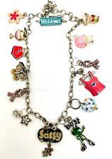 Vintage Webinez Cute Charms Teen Women Necklace Choker Enamel Butterfly Stars