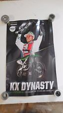 Kawasaki KX Dynasty Featuring Villopoto Monster Energy Drink Dealer Poster