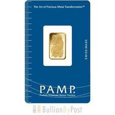 PAMP 5 Gram Gold bar Minted