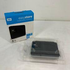 Western Digital WD EasyStore 2tb External USB 3.0 Portable Hard Drive - Open Box