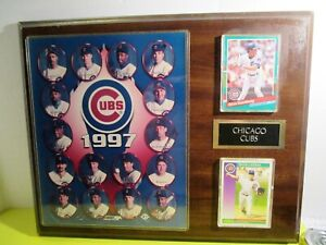 Chicago Cubs Wall Plaque