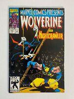 Marvel Comics Presents #102 Wolverine Nightcrawler Flip Book Ghost Rider 1991