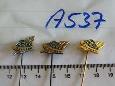 Anstecknadeln Landes Sportbund Sachsen bronze silbern golden 3Stück (A537)je1,90