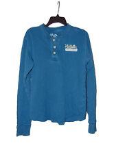 Hollister Light Blue Long Sleeve Shirt Medium Women