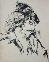 Painting by Raul García Valdés ¨Che¨, original signed by the artist. Cuban Art