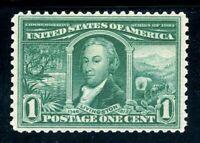USAstamps Unused VF US 1904 Louisiana Purchase Scott 323 OG MNH