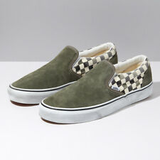 Vans Washed Pack Classic Slip-On Skate Shoes Sneakers Khaki VN0A4U38WO3 US 4-12