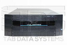 EMC VNX5300 Block Storage System w/ 5x V3-2S10-600, 8Gb FC, 10GbE, 2x 1200W SPS