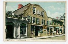 """""""Old Witch House"""" Storefronts SALEM MA Antique Detroit Pub ca. 1906"""