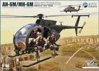 Kitty Hawk KH50002 1/35 AH-6M/MH-6M Little Bird Nightstalkers [w/resin figures]