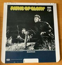 Vintage Paths Of Glory Movie Ced Selectavision Video Disc Rare Kirk Douglas