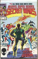 Marvel Super Heroes Secret Wars 1984 series # 11 very fine comic book