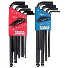 Eklind Tool Company 13222 22 Piece Combination Sae And Metric Long Ball End Hexl
