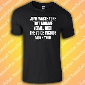BLINK 182 MISS YOU LYRICS T-SHIRT | 2021 MEME | JONE WASTE YORE TOYE MONME