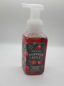 Bath & Body Works PUMPKIN APPLE Gentle Foaming Hand Soap 8.75 FL OZ NEW
