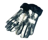 Women's Fashion Gloves Faux Fur Trim Winter Fall