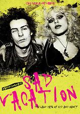 'SAD VACATION The Last Days of Sid & Nancy' DVD Sid Vicious Sex Pistols punk doc