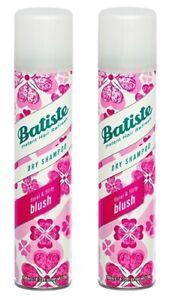 Batiste #87074 Blush Dry Shampoo 200 mL/6.73 oz (Pack of 2)