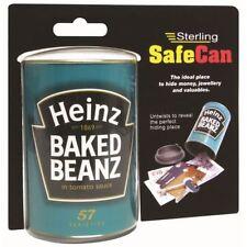 Sterling Security Heinz Baked Beans Can Jar Secret Storage Box Hidden Safe