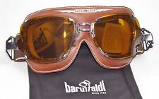 BARUFFALDI SUPER COMPETITION CHOCOLATE BROWN GOGGLE CLASSIC CAFE CRUISER RACER