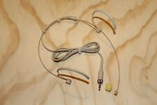 Beige Double earhook Headset Mic Headworn Microphone for Sennheiser Wireless