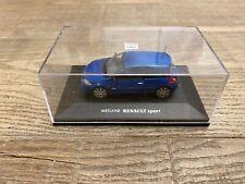 Universal Hobbies 1/43 Renault Megane RS RENAULT Sport blue n°UH2052