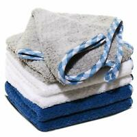 Towelogy® Microfibre Dish Cloths Cleaning Absorbent Kitchen Tea Towels 30x30cm