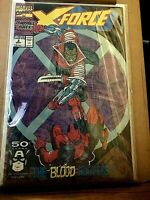 X-Force #2 (Sep 1991, Marvel) NM - HIGH GRADE 2ND DEADPOOL ...