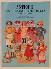 UNcut Antique Advertising Paper Dolls Full Color 1981 Barbara Whitton Jendrick